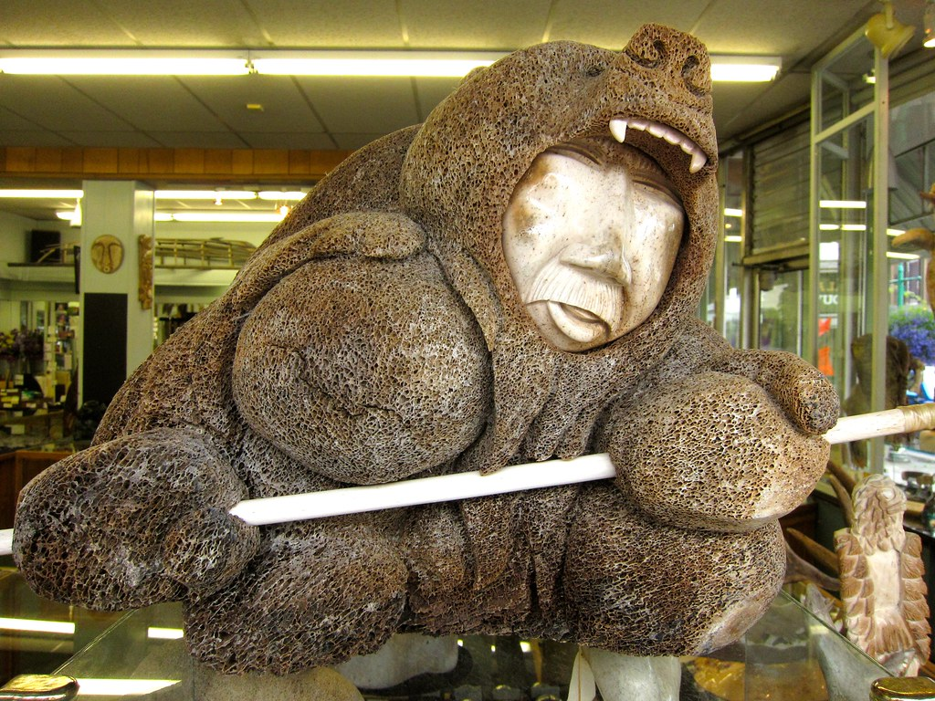 Inuit inupiat carvings other traditional crafts flickr