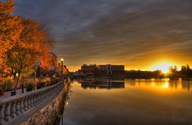 Epic sunrise - Sherbrooke