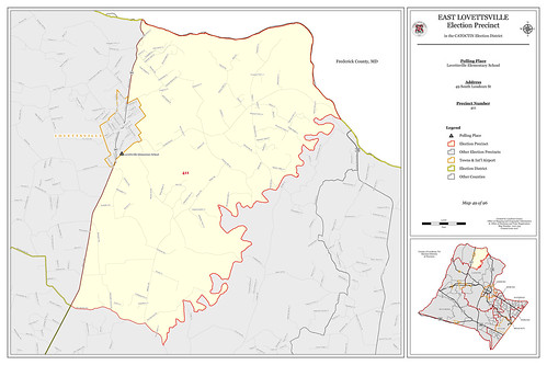 Precinct 411 - East Lovettsville | by Office of Mapping, County of Loudoun