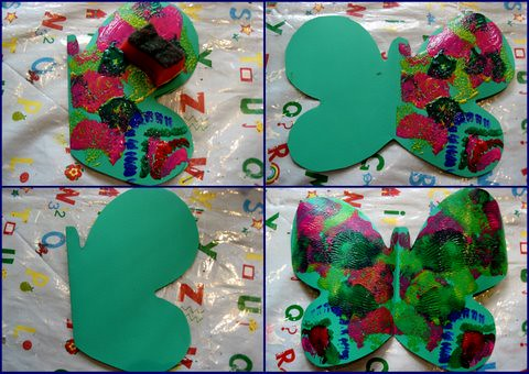 The Very Hungry Caterpillar Butterfly Craft Ideas