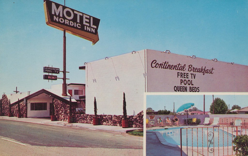 Nordic Inn Motel - Fresno, California