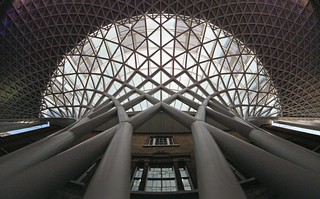 King's Cross Roof from below | by Keith Marshall