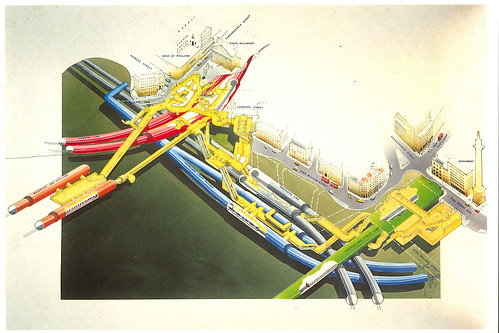Bank Monument Station Modernisation Cutaway | by Annie Mole