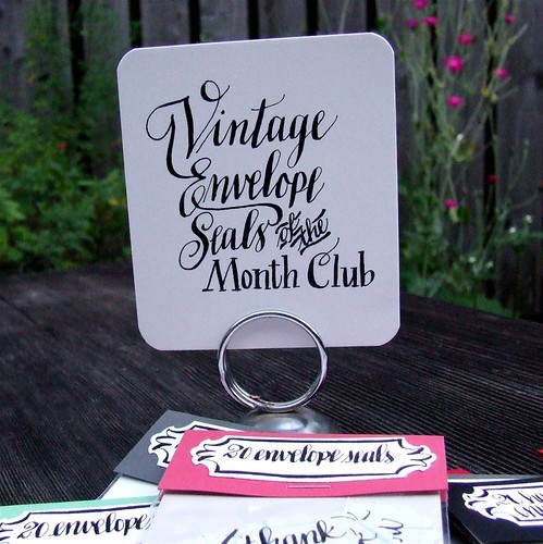 Vintage Envelope Seals of the Month Club | by KisforCalligraphy