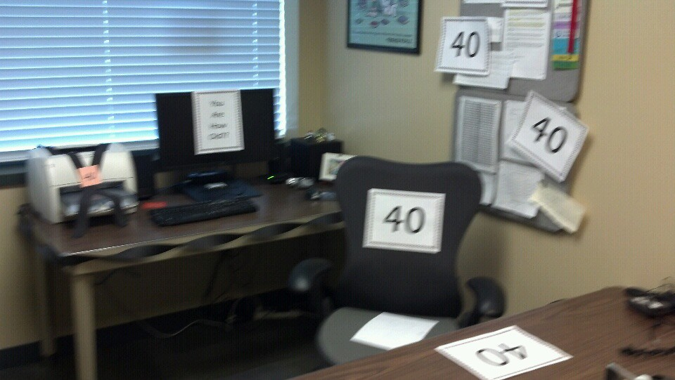 40th Birthday Office Decor Matthew Ciszek Flickr