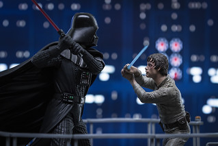 I Am Your Father - Luke Skywalker VS Darth Vader on Bespin X | by SauceyJack