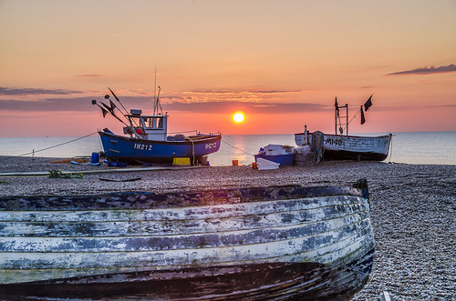 Fishing Boats Aldeburgh Sunrise | by Thornberry!