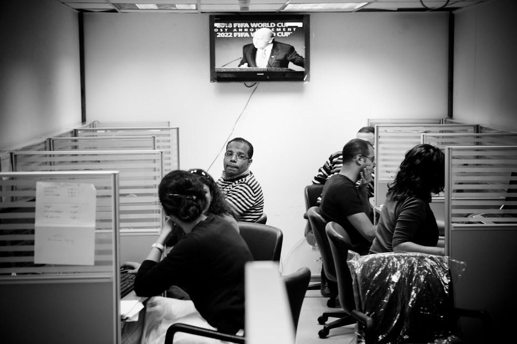 ahram online newsroom غرفة الأخبار hossam el hamalawy flickr