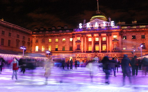 Ice Rink at Somerset House | by littleblom