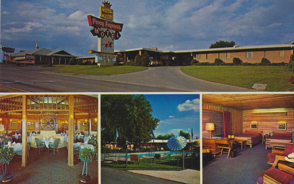 Pony Express Motel & Restaurant - St. Joseph, Missouri