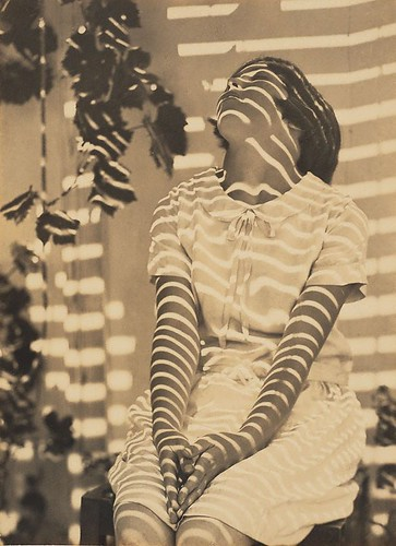 Pergola Pattern, Cazneaux's daughter, by Harold Cazneaux 1931 | by Photo Tractatus
