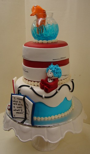 Cat And The Hat Birthday Cake Cat And The Hat Birthday