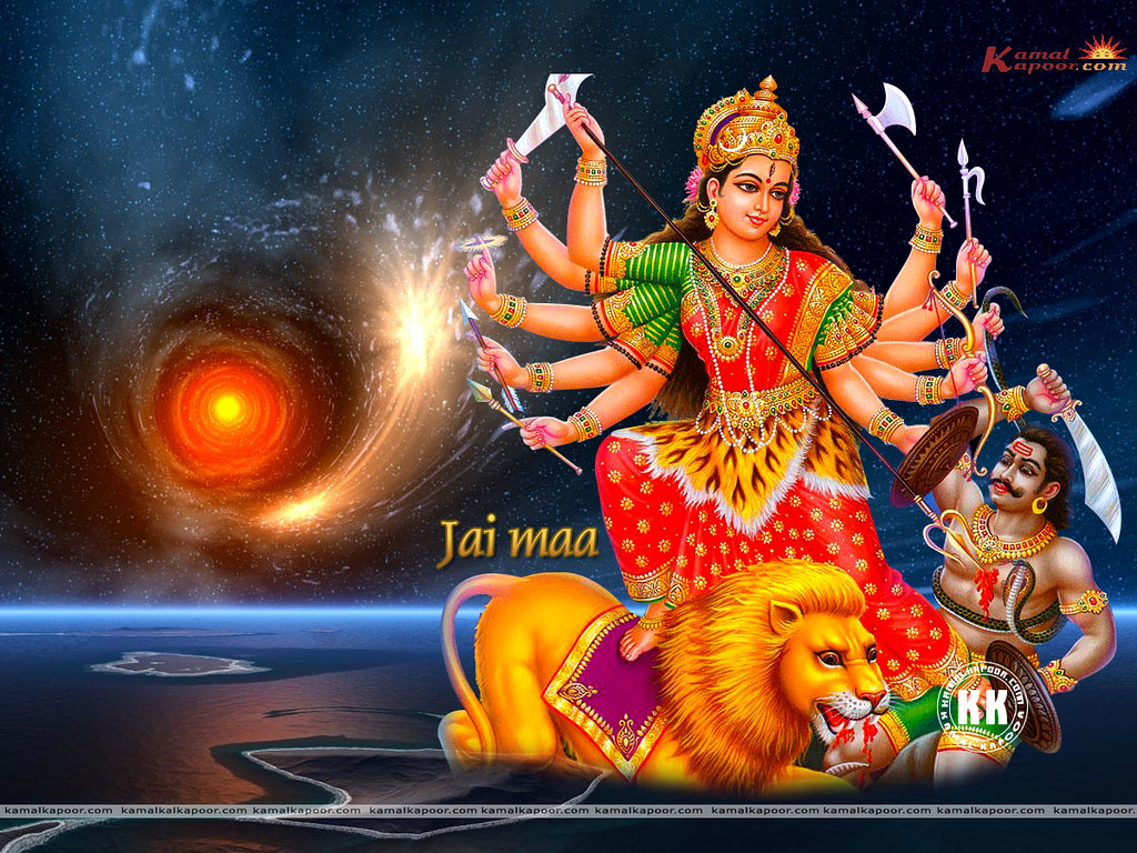 Lord Maa Durga Wallpaper Different Maa Durga Wallpapers M Flickr