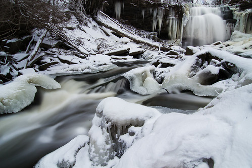Grindstone Creek Falls Christmas 2010 | by Christopher Brian's Photography