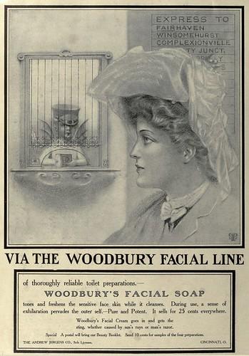 Opinion you Woodbury facial soap