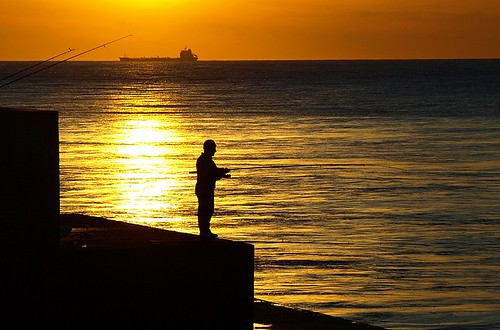 The fisherman of sunset | by Filipe Teixeira1