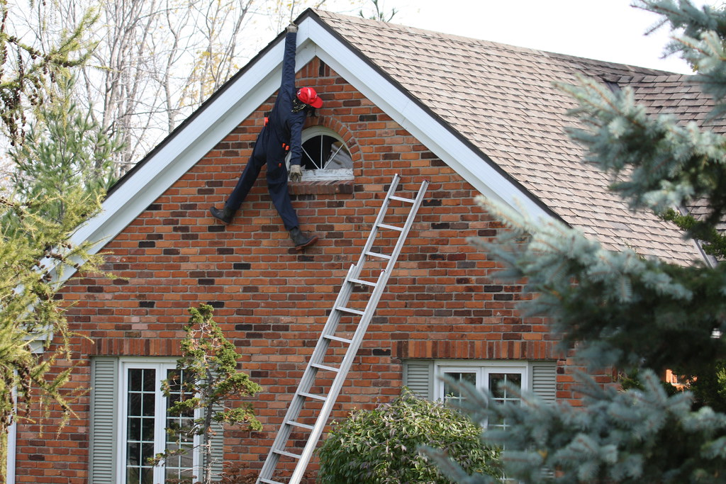 i hate putting up the christmas lights by ricmcarthur - How To Hang Up Christmas Lights