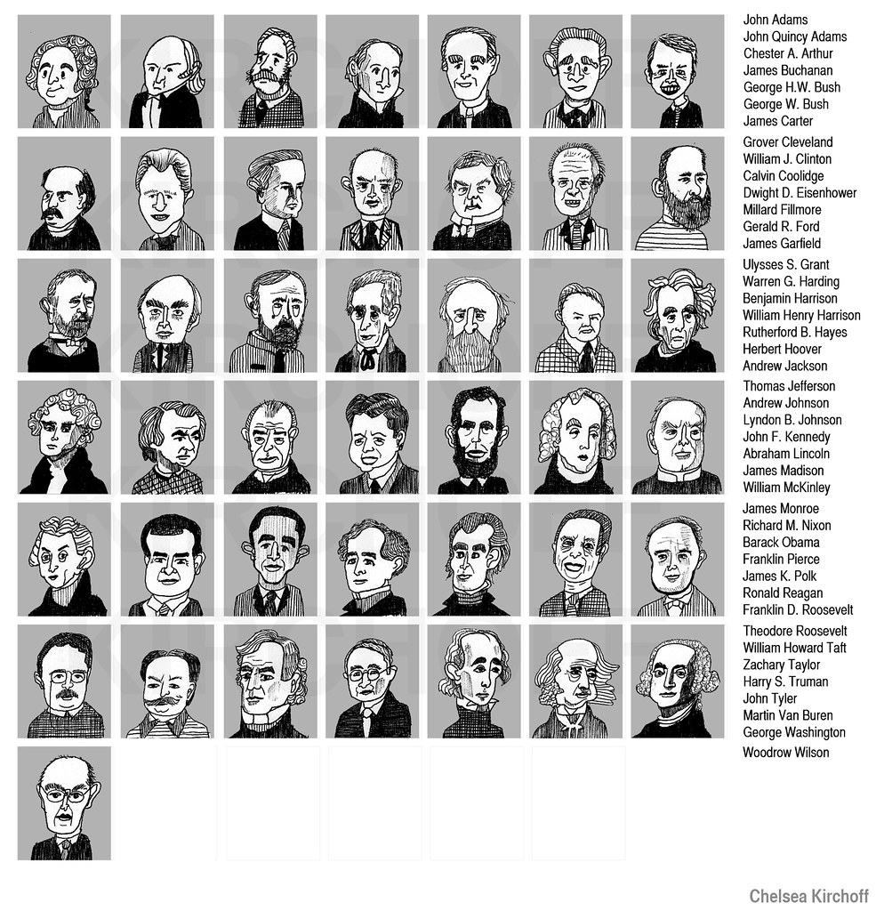 by chelsea kirchoff presidents of the united states of america by chelsea kirchoff - Presidents Of The United States Of America