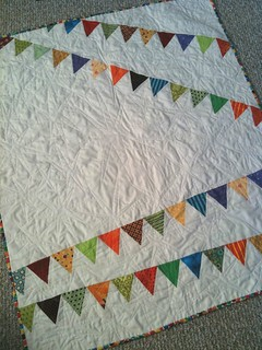 Bunting Quilt | by afewscraps