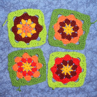 Marigold Garden squares, Rounds 4-5 | by veryty