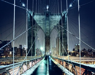 Brooklyn Bridge Walkway, New York City | by andrew c mace