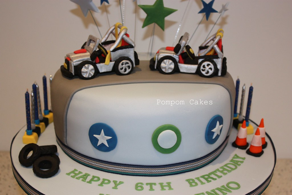 Jeep birthday cake This was for two little boys who were h Flickr