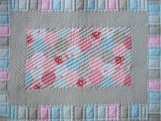 Quilted bath mat | by flossieteacakes