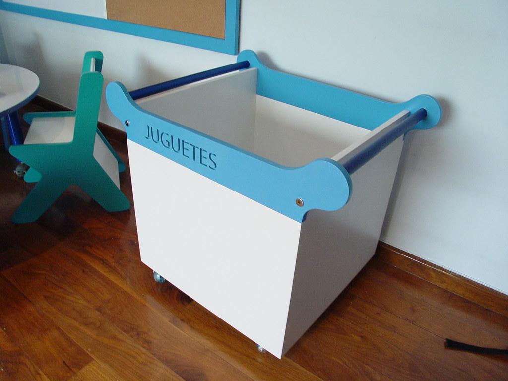 Juguetero Con Rodajas Muebles De Ni Os Dise O Y Fabricac Flickr # Muebles Jugueteros Para Ninos