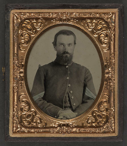 [Unidentified soldier in Union sergeant's uniform] (LOC) | by The Library of Congress