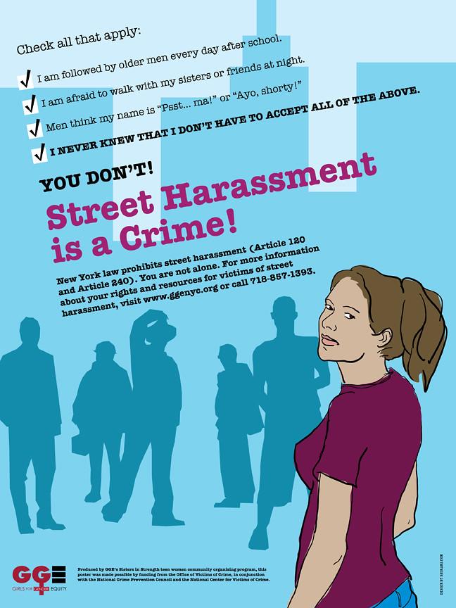 Sex crimes poster