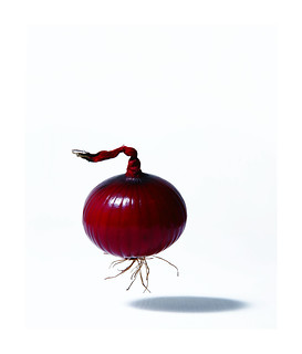 RED FLOATING ONION ! | by ARCHIE MCKINNON