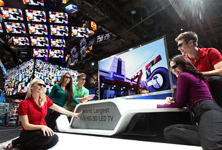 75 inch World Largest Full HD 3D LED TV | by samsungusa