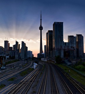 The Dawn of a New Day in Toronto | by Nathan Bergeron Photography