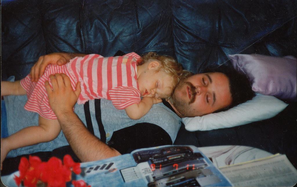 me & my dad.