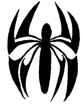 Scarlet Spider Logo Sample 3 This Image Wasnt Symmetrical Flickr