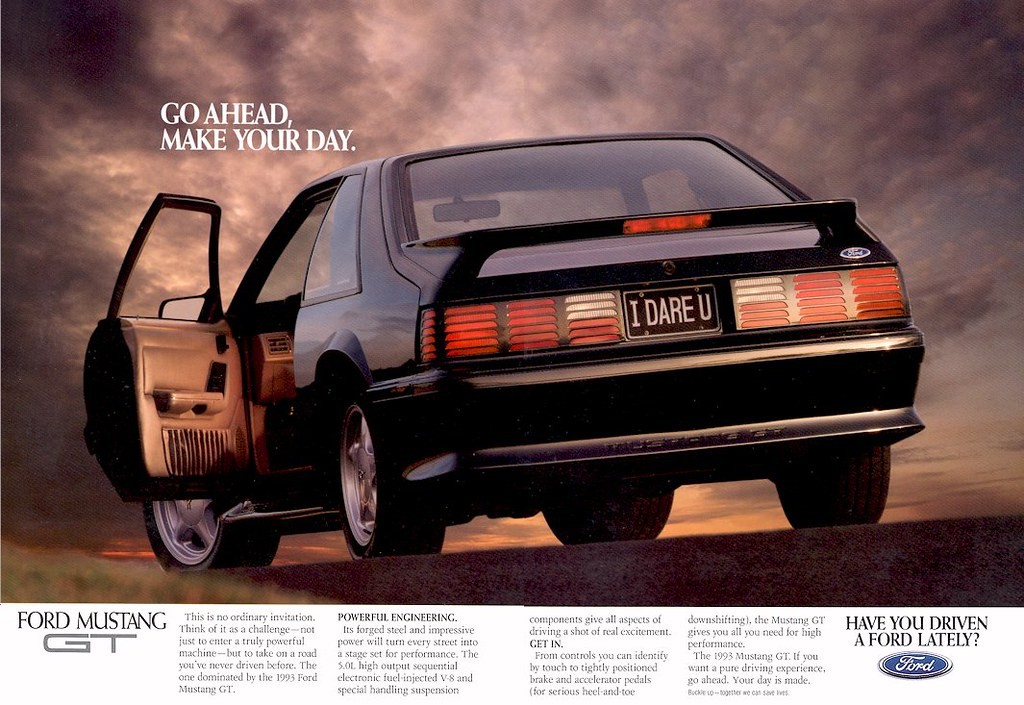 Ford Mustang Gt Ad Usa By Five Starr Photos Aussiefordadverts