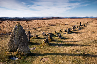 Merrivale Stone Row | by @rdownerphoto