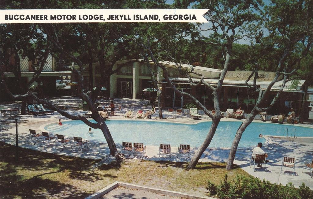 Buccaneer Motor Lodge - Jekyll Island, Georgia