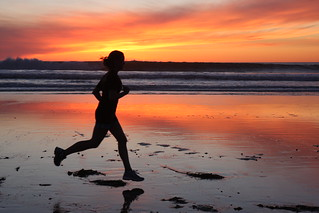 Sunset Runner | by San Diego Shooter