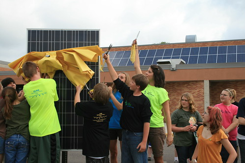 Project Independence Solar PV Dedication at Chisago Lakes Middle School | by CERTs