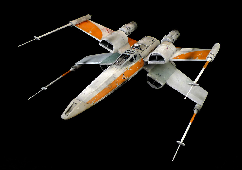 ... Ralph McQuarrie X Wing | By Roboterkampf