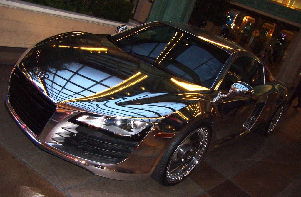 West Coast Customs Tron Car >> West Coast Customs Tron Inspired Chrome Audi R8 This Tric Flickr