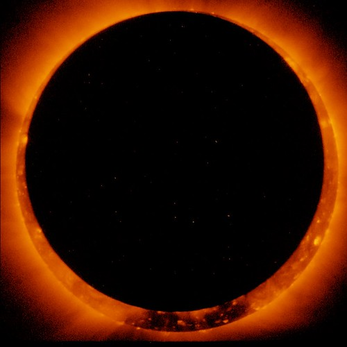 Solar Eclipse, Middle (NASA, Hinode, 01/07/11) | by NASA's Marshall Space Flight Center