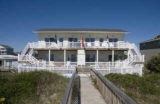 Emerald Isle, NC 4BR Oceanfront Duplex - Marine Manor East | by emeraldislerealty