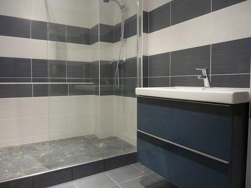 Carrelage salle de bain opus carrelage carreleur lyon for Carrelage opus