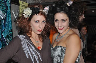 Riot Fashion show @ Guilt & Co. Amber + Stacey before the catwalk! | by Janis Behan