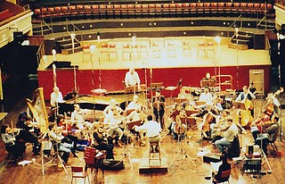 Recording with the Scottish Chamber Orchestra | by JR Archive