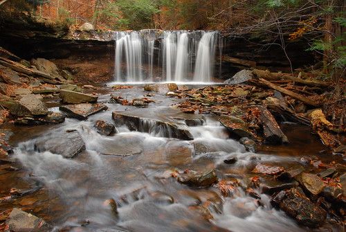 Oneida Falls, Ricketts Glen - Horizontal SOOC | by VermontDreams