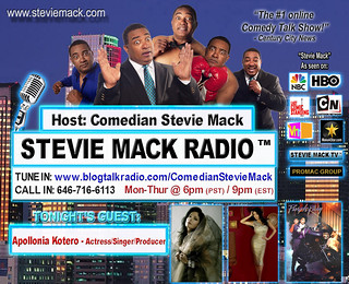 STEVIE MACK RADIO™ Guest: Apollonia Kotero - Actress/Singer/Producer -12-22-2010 | by Comedian Stevie Mack