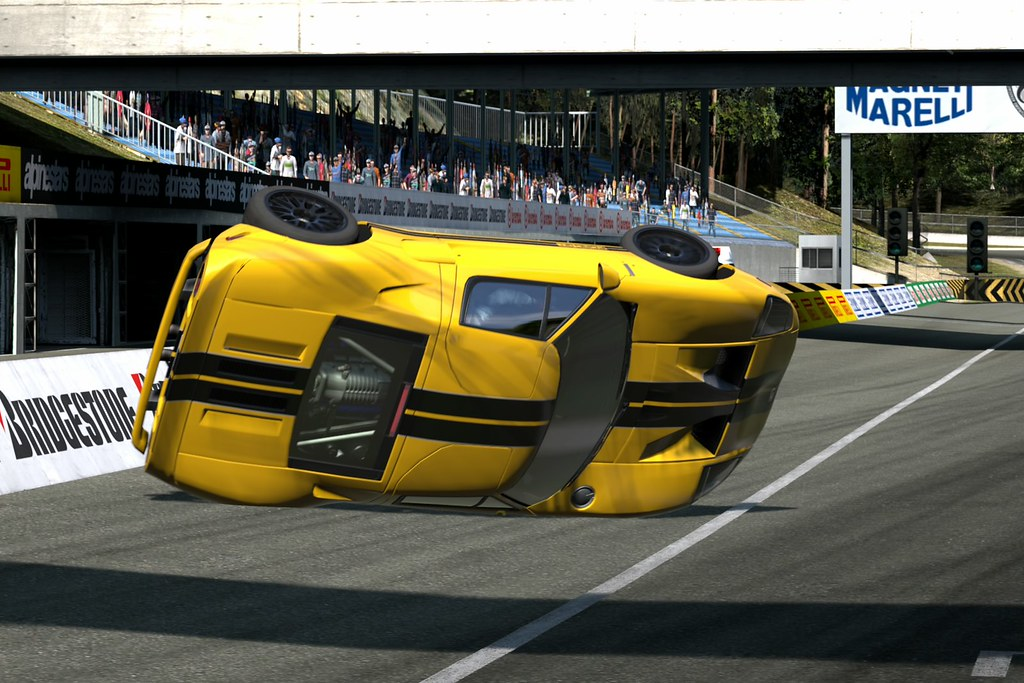 My Ford Gt Crash By Mertx
